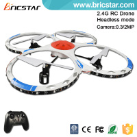 Factory price 2.4G drone remote control aircraft with beautiful colorful lights