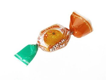 "Small boiled sweets with natural juices ""Tily-Bom"""