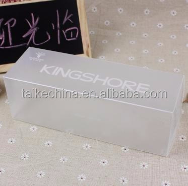 PVC Sheet Plastic Material PVC Packing Box PVC Plastic Case (PVC1202)