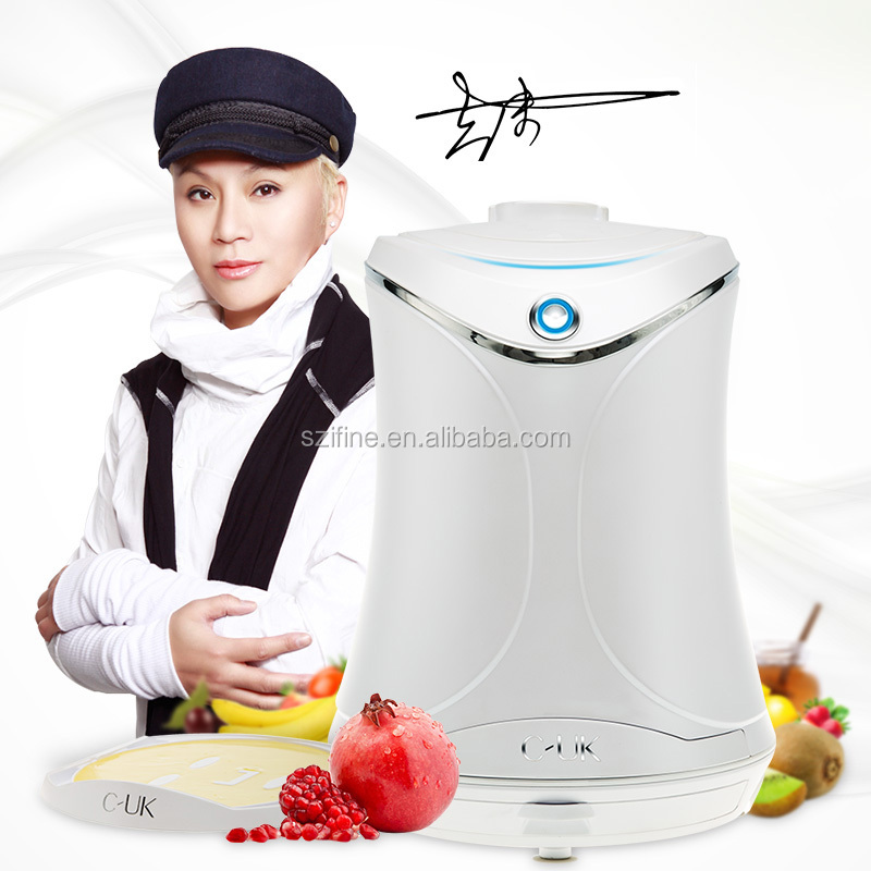 C-UK V2 fruit mask machine DIY beauty mask natural green fruit mask maker CUK with juice making automatic cleanning function