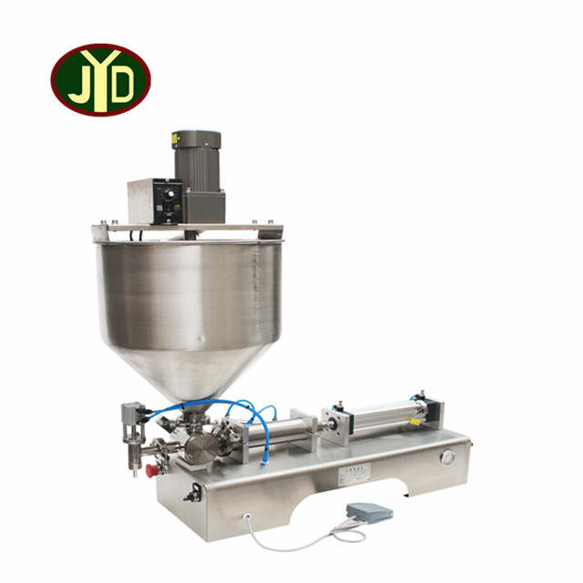 pneumatic driven salad jam filling machine for <strong>fruit</strong>/bread jam