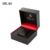 China manufacturer wholesale custom logo black luxury plastic watch packaging box