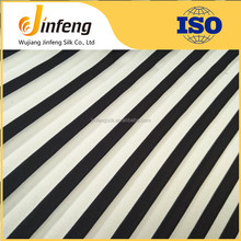 100% polyester chiffon crepe and printing stripe most fashionable wash and wear fabric