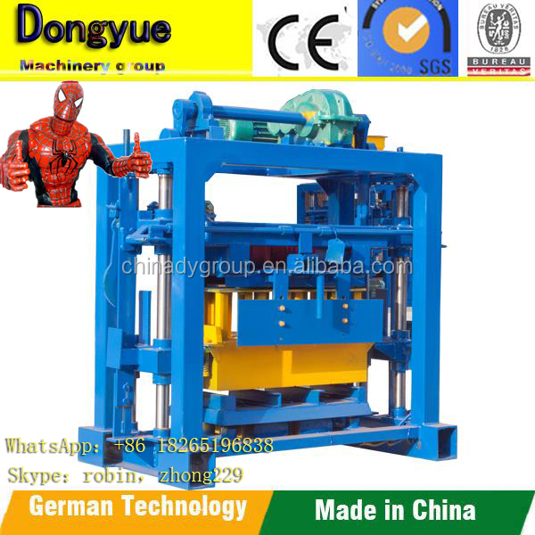 Small concrete block making machine qt40-2 for small scale industries/block making machine price list in nigeria