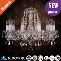 Guzhen bohemian style egyptian high-quality crystal chandelier for decoration
