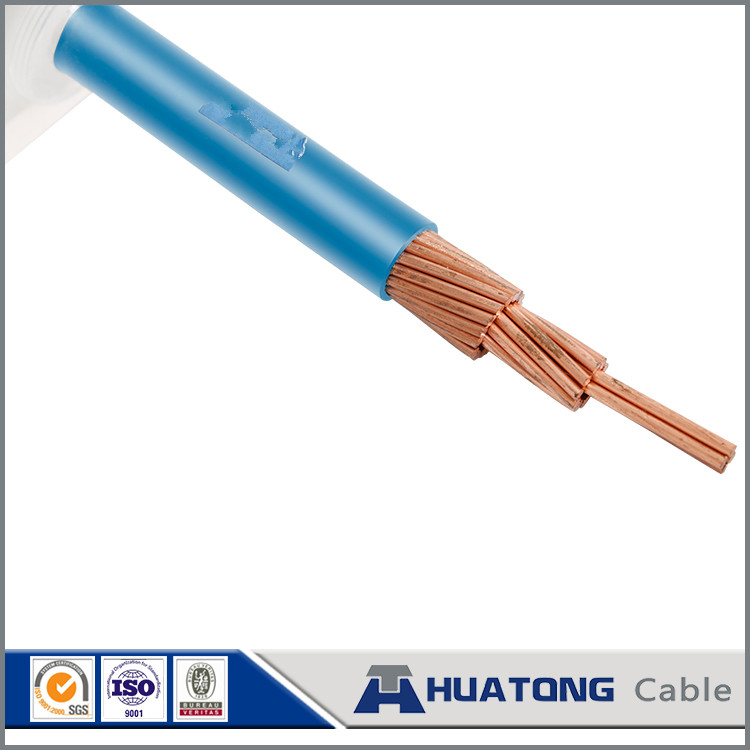 solar power plant PVC insulated flexible electrical wire copper stranded wire 95 mm2 with 450V / 750V