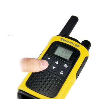 Teamup T80A PMR two way radio for Europe market with CE