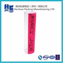 Convenient new design for paintbrush blister packaging with cylindrical type devisable logo