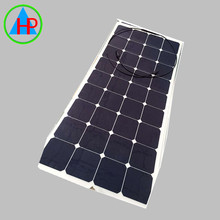 Free shipping high efficiency flexible solar panel 100w ODM
