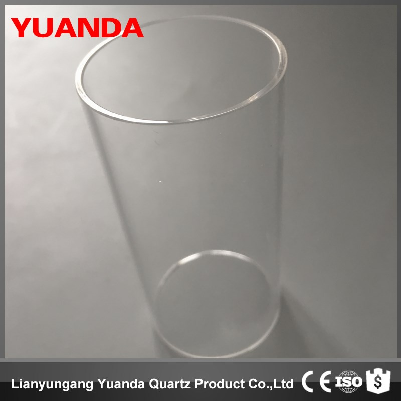 YUANDA quartz glass tube Heat-resistant 1300 degrees heating element