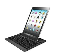 Bluetooth Wireless Metal Aluminum Keyboard Metal Hold Case Cover for iPad 5 iPad Air