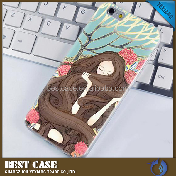 printing TPU mobile phone case for huawei y6 pro cover