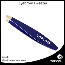 Large handle eyebrow tweezers for professional, easy to use tweezers tool