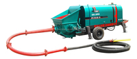 380V low price hydraulic wet concrete grounting machine beton grounting pump