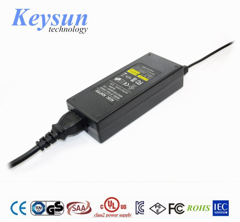 single output type desktop AC DC adapter 75w 15v 5a switching power supply
