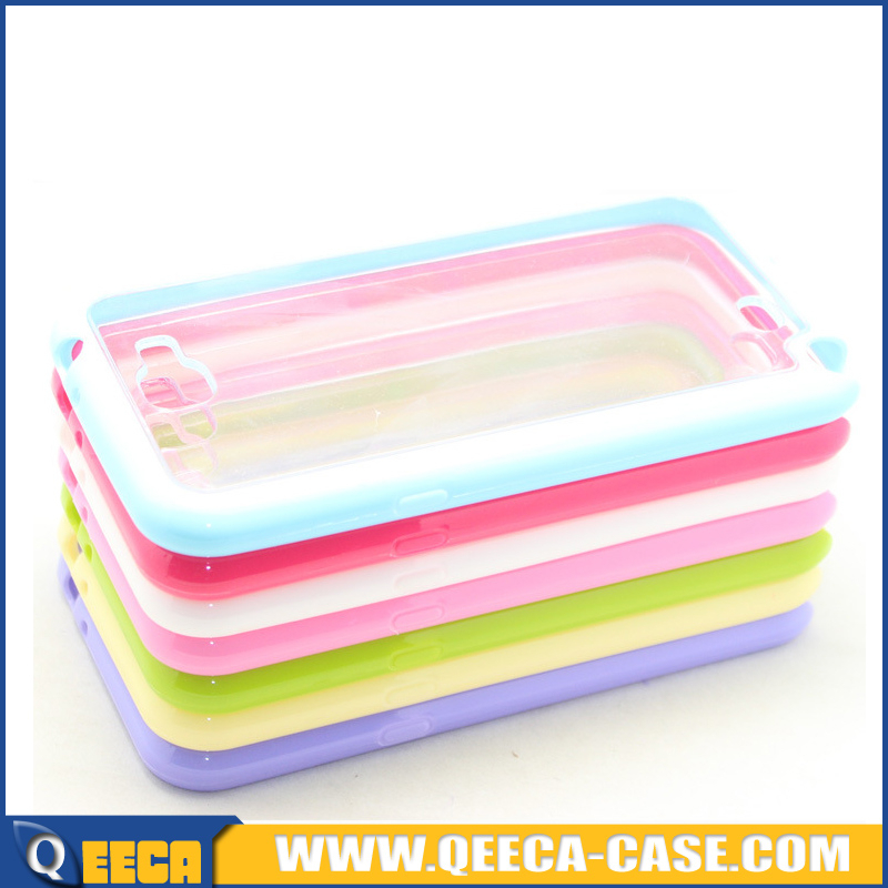 Hot selling for samsung galaxy note 2 clear plastic protector case for samsung note 2 cases