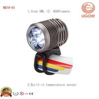 UGOE powerful 5000 lumens bike led light Cree xml L2 MTB bicycle light