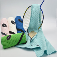 Best selling items Microfiber highly absorbent sports travel towel with carabiner