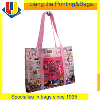 Custom Reusable Laminated Shopping Bag
