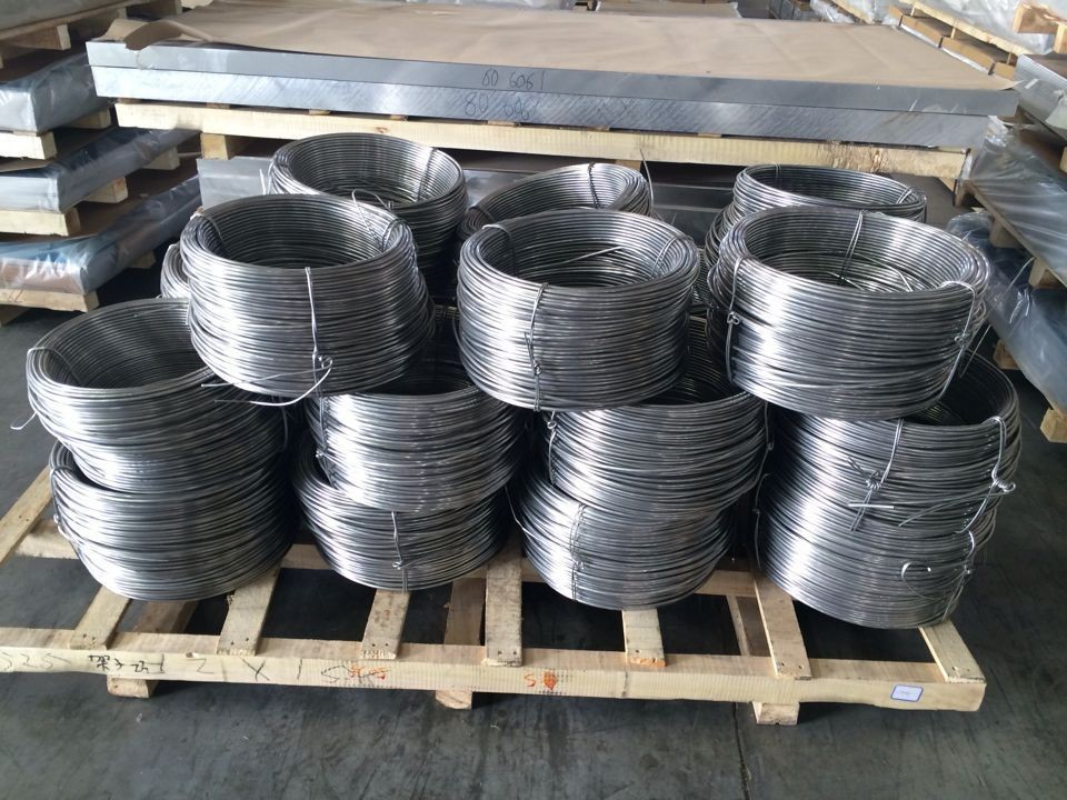 1050 R the thickness 6.5mm 9.5mm 12.7mm aluminum wire