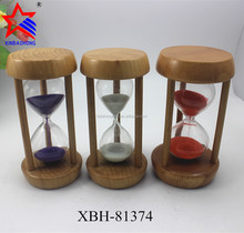 Gifts for Dentists Desktop Clock Colorful 5 minute Wood Hourglass Sale