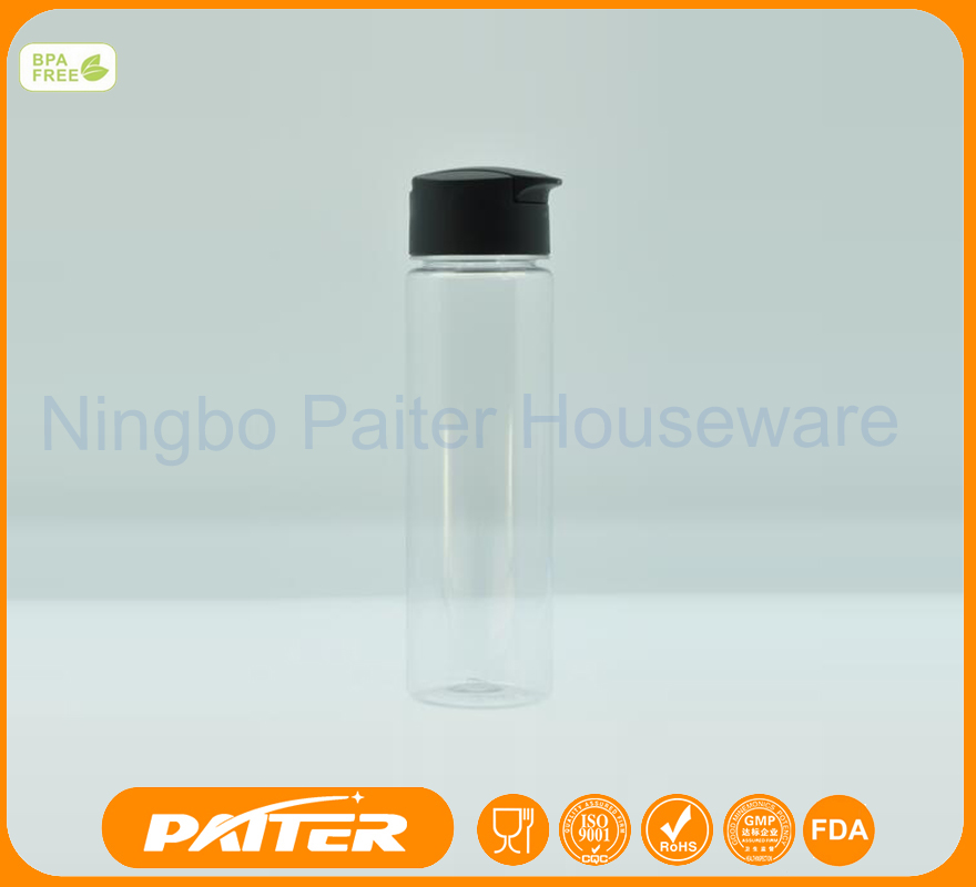 850ML Tritan water bottle with can disassembled lid