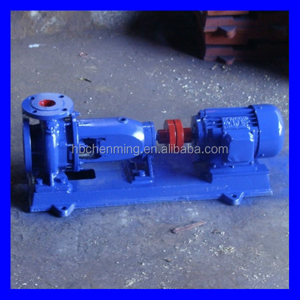 IS type complete set 210 l/min electric water pump for irrigation