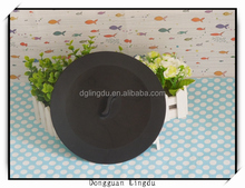 Silicone clay pot cover with lid
