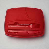 3 Compartments Wholesale Plastic Food Storage Container