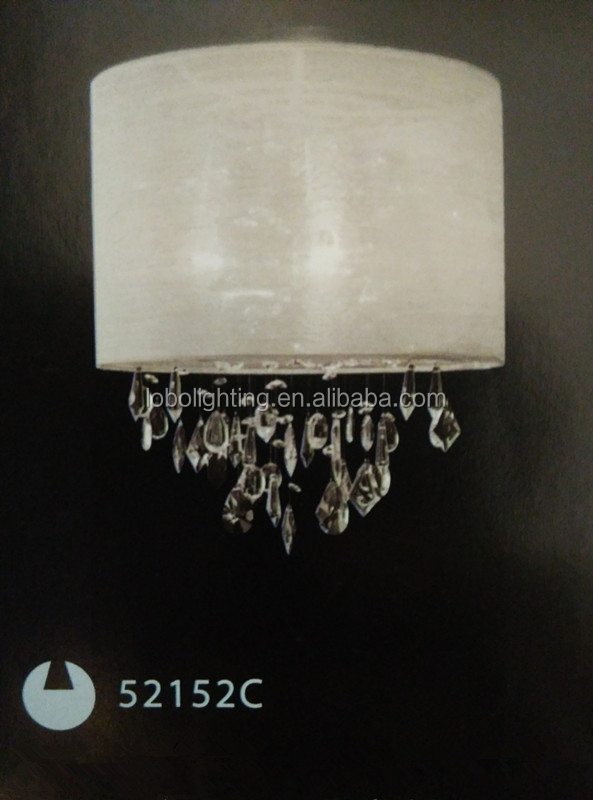 customized crystal lamp/crystal glass luster ceiling lamp/fabric cord for lamp silicone ceiling rose