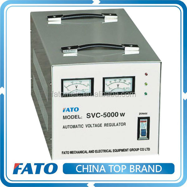 FATO SVC Single phase automatic AC voltage stabilizer
