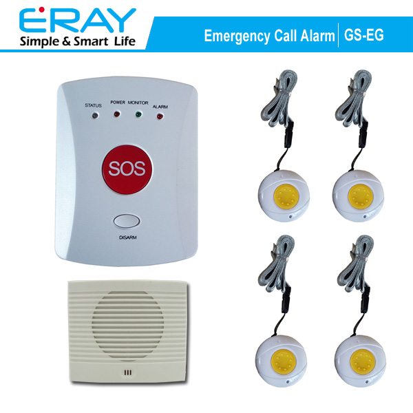 personal usage emergency phone calling elderly alarm with big SOS button