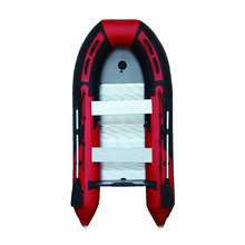 Different sizes inflatable sailboat speed boat with aluminum floor