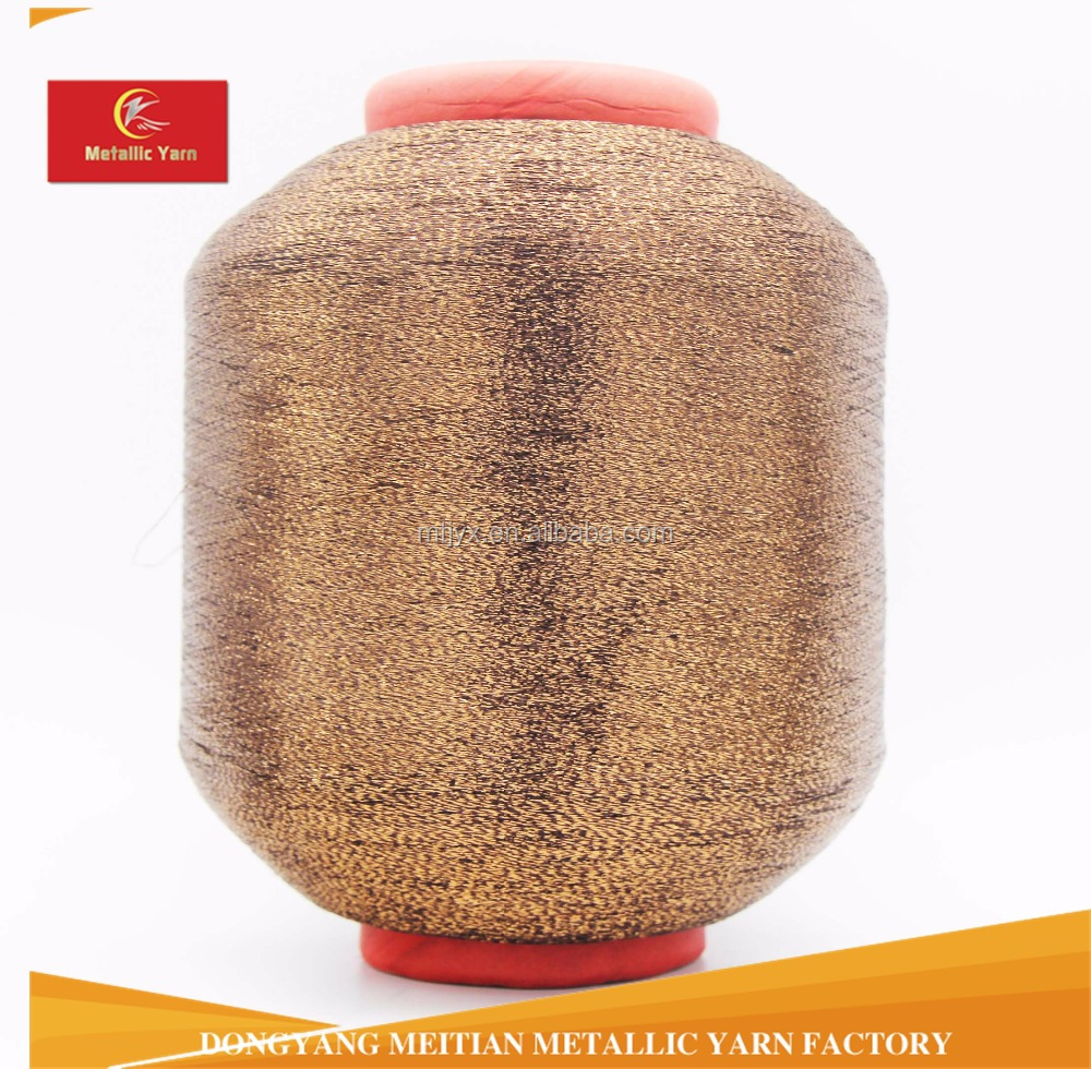 MH -type polyester metalized yarn for knittting,weaving