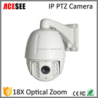 HD 18xOptical zoom dome ir 120m ip ptz camera ip network camera outdoor