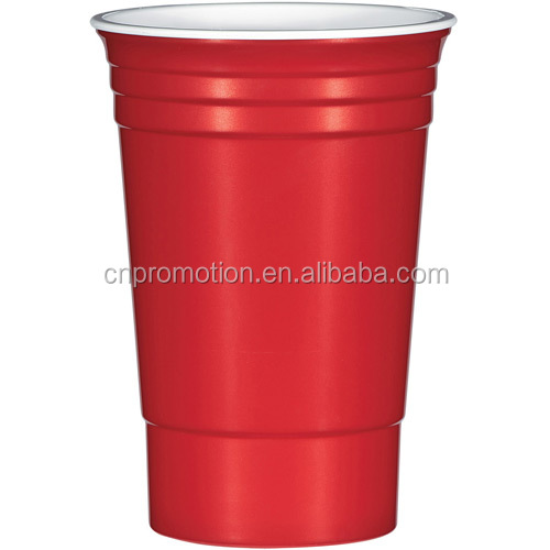 Classic Disposable Plastic Red Solo Cup 16 OZ