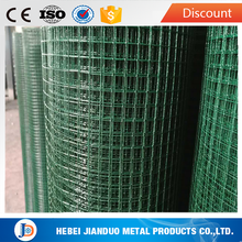 1M width 1/2 inch plastic coated welded wire mesh in 10KG roll