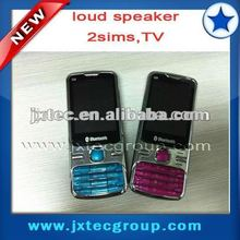 2013 factory price china 2 sim TV celular phone Q9