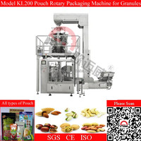 Fully Automatic Zipper Pouch Filling Sealing Machine