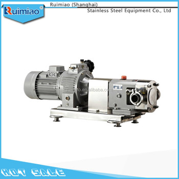 high quantity sanitary stainless steel rotor pump buy