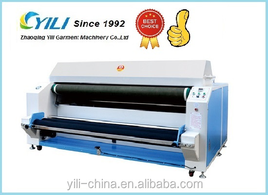 2016 Hot Selling small fabric shrinking and forming machine, cloth heat shrinking machine for garment and textile finishing