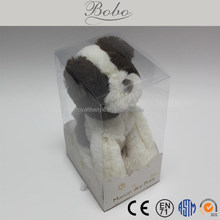 Cute plush toy stuffed puppy for kids