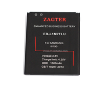 best selling in Europen OEM acceptable mobile phone battery 3.8V 1500mAh EB-L1M7FLU for Samsung galaxy S3 mini i8190