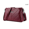 D-007 women PU leather hand bag with chain strap crossbody bag fashion pebbled leather wallet handbags lady