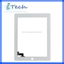 Black color replacement for ipad 2 digitizer ,For ipad 2 touchscreen