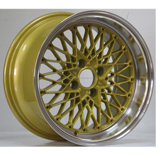 15*8.0 17*7.5 FORMULA MESH deep lip aluminum alloy wheel from China factory with good quality and cerificate JWL/TS16949/VIA