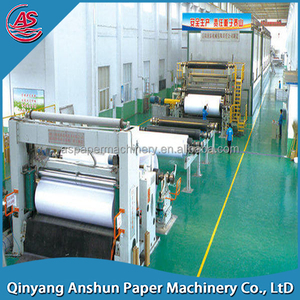 China virgin pulp recycling a4 paper making machine