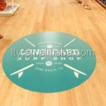 Removable vinyl flooring tile stickers