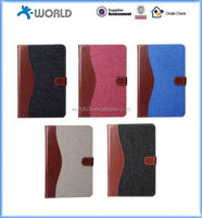 jeans leather case for ipad mini4