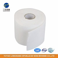 Professional Manufacture Cheap Polyester Cotton Pads Nonwoven Material Fabric Roll